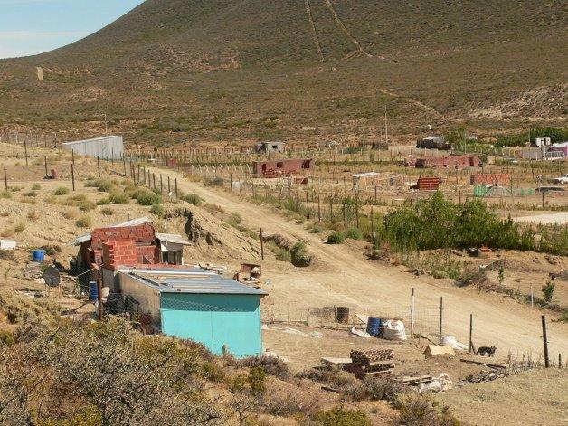 En Kilómetro 12 se encuentra la reserva de tierras destinada al Plan Alas en Comodoro Rivadavia.