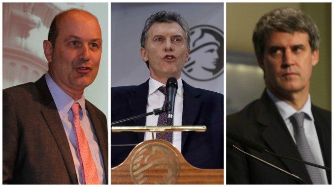 Macri asume el control de la economía y empodera a Sturzenegger