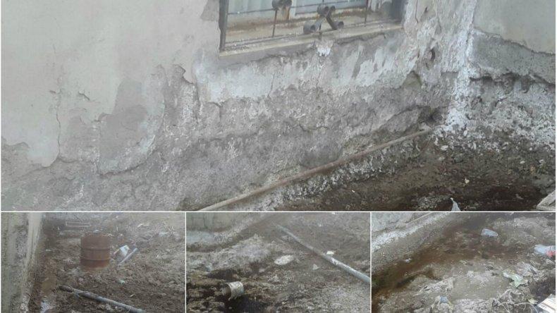 Hace 10 años que reclama por una pérdida de agua: mi casa se está viniendo abajo
