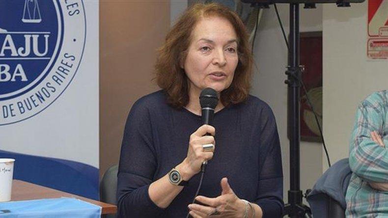 La juez porteña Elena Liberatori frenó el aumento del subte.