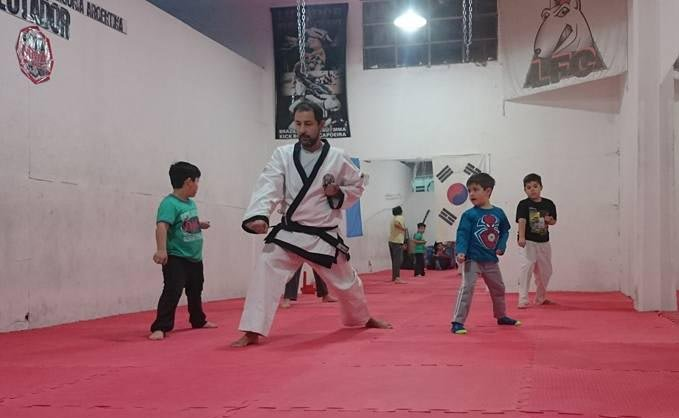 Las clases de Tang Soo Do en Comodoro Rivadavia son dictadas por Alejandro Kellinger.