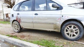 Angélica fue obligada a bajarse de su auto para recibir directamente una puñalada con claras intenciones de quitarle la vida.