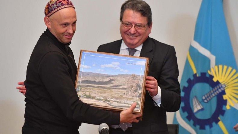 Sergio Bergman hizo explícita en Chubut la posición pro minera del gobierno que representa.