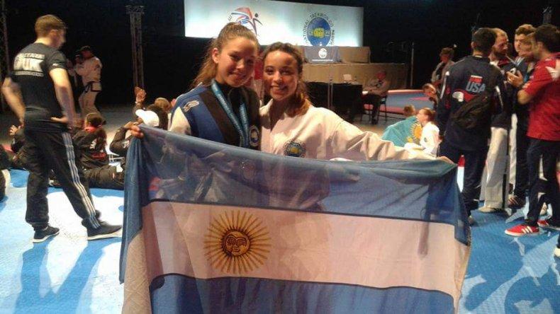 Un mundial histórico para la comodorense Leila Ramos