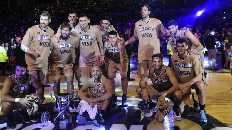 La selección argentina de básquetbol viene de ganarle un durísimo partido a Lituania.