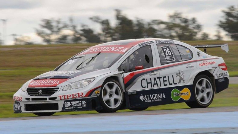 Luciano Farroni compartirá el Peugeot del equipo FE con el francés Tom Coronel.