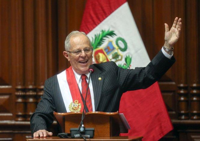 El liberal Pedro Pablo Kuczynski asumió ayer la Presidencia de Perú