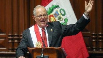 El liberal Pedro Pablo Kuczynski asumió ayer la Presidencia de Perú, en el día de la Independencia de ese país.