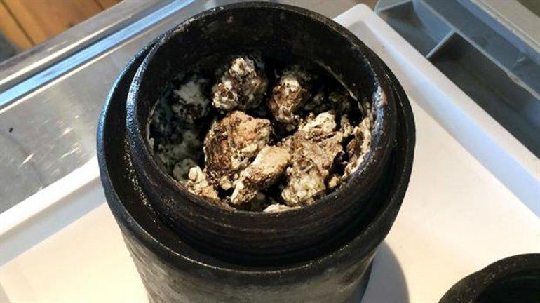 Descubrieron un queso de 340 años en un buque que naufragó