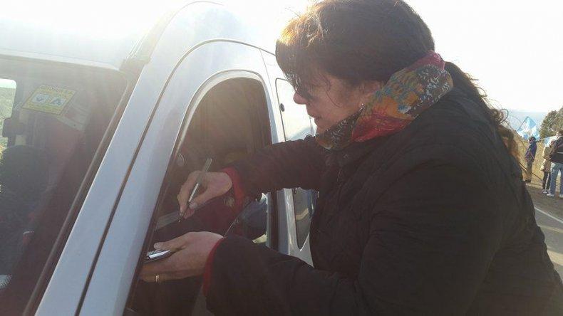 En Chubut también se recolectan firmas contra el tarifazo y en apoyo a la ley de zona diferencial para la Patagonia.