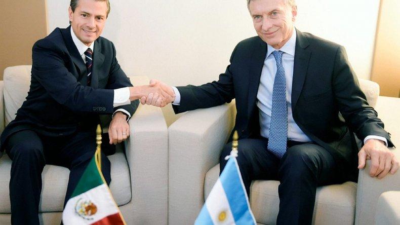 Macri recibe hoy a Peña Nieto en Casa de Gobierno