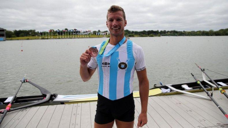 La impotencia de un remero argentino en los Juegos Olímpicos