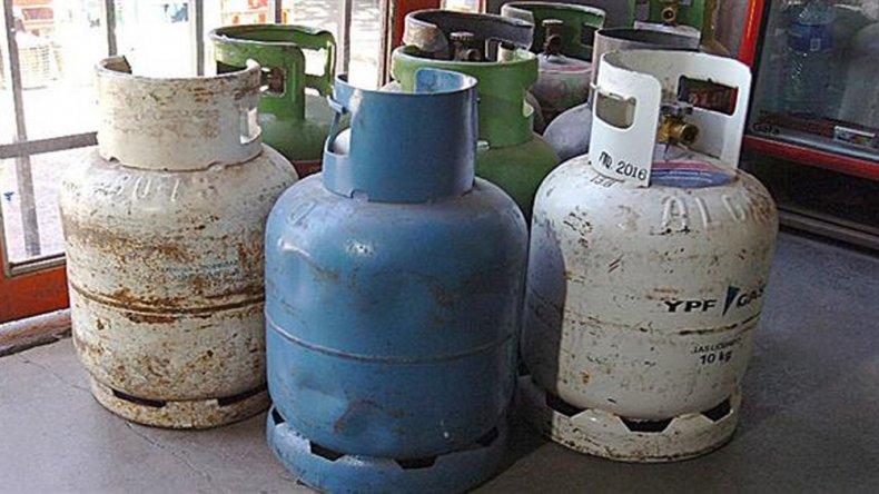 El Gobierno regula el precio de la garrafa de gas.