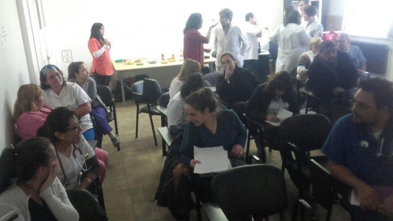 La capacitación fue por un convenio firmado entre el Ministerio de Salud de la Provincia y la UBA.