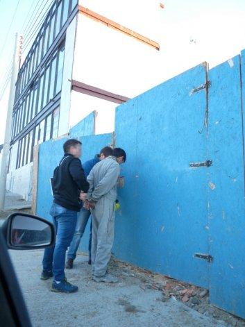 La Brigada de Investigaciones capturó ayer a la mañana a Jesús Espinoza en El Patagónico y Del Trabajo.