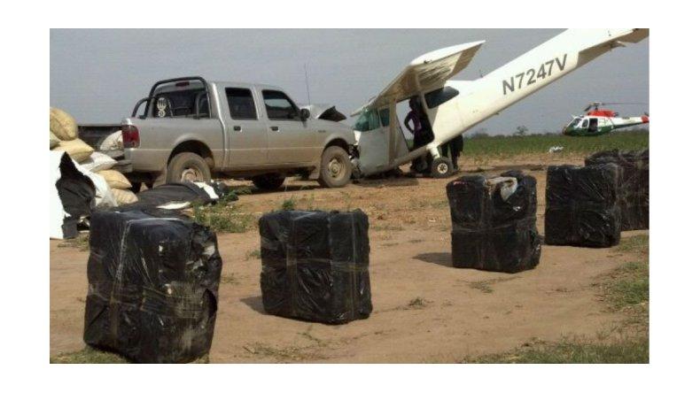 Unas 1.500 pistas ilegales en el país se usan para mover drogas