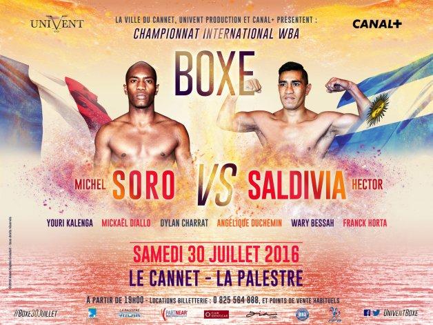 Saldivia perdió por nocaut en el tercer round