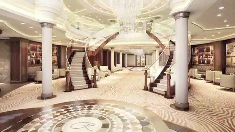 Sus habitaciones cuentan con más comodidades de las que un turista regular precisa y en su primer viaje su precio ronda los 13 mil euros.