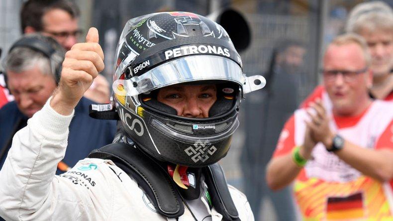 Nico Rosberg se ubica como escolta en el campeonato mundial de pilotos de la Fórmula 1.