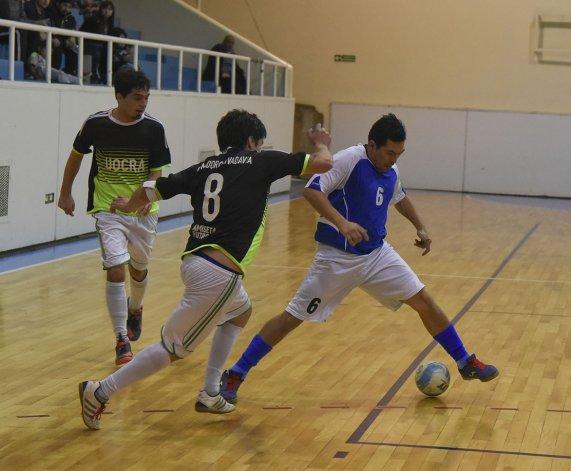 En el gimnasio municipal 2 continuará toda la acción del futsal mayor y de la Asociación Promocional.