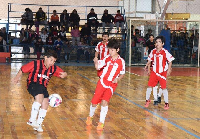El fútbol de salón infantil disputará esta tarde una nueva jornada por la Copa Alexis Cabrera.