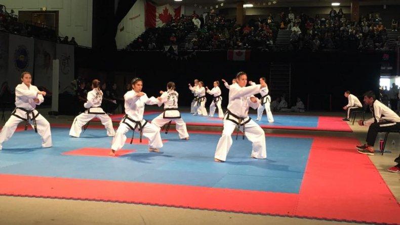 Leila Ramos sigue haciendo historia en el Mundial de Taekwondo