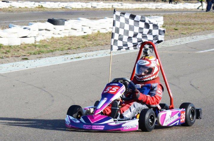 El pequeño Danilo Pachmann continúa con su racha de victorias