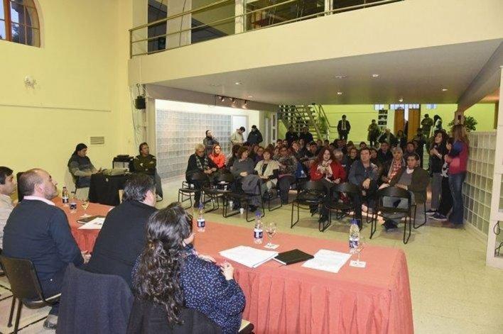 El encuentro de seguridad que reunió a autoridades provinciales y municipales con referentes vecinales.