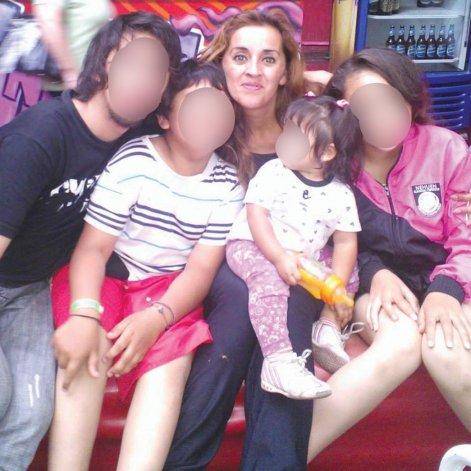 Angélica Catrihual se recupera del ataque sufrido hace una semana y la policía trata de identificar al autor.