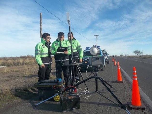 En Chubut habrá controles electrónicos de velocidad