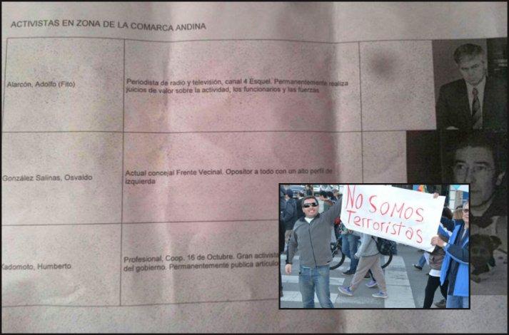 Mañana se define si continúa procesado el espía que fichó a vecinos de Esquel