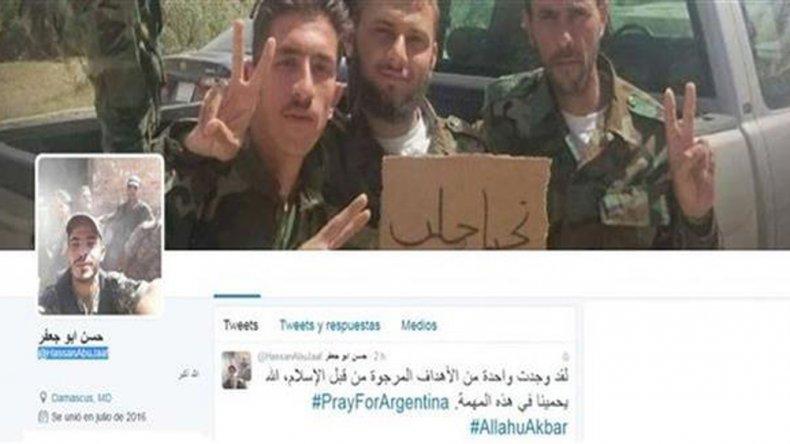 {altText(Bajo el hasthag #PrayForArgentina, los jóvenes mostraron fotos de posibles objetivos terroristas en Buenos Aires.,Allanaron el domicilio de uno de los dos detenidos por amenazar a Macri por Twitter)}