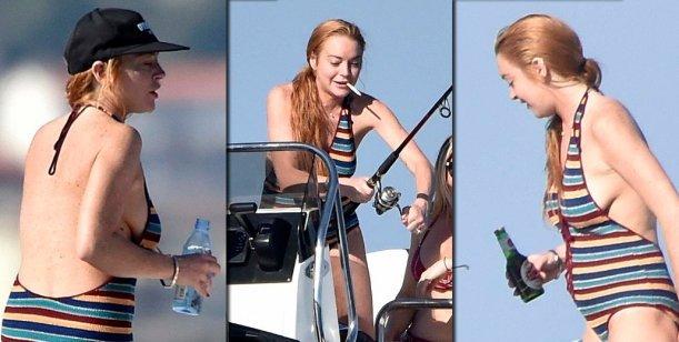 Lindsay Lohan estaría embarazada pero estuvo bebiendo alcohol y fumando