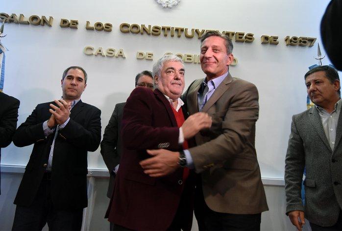 Arcioni está a cargo del Ejecutivo mientras Das Neves se recupera