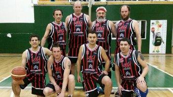 El equipo de Dragones de Trevelin.