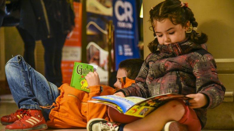 La Feria del Libro es una propuesta cultural pensada para cautivar a todas las generaciones.