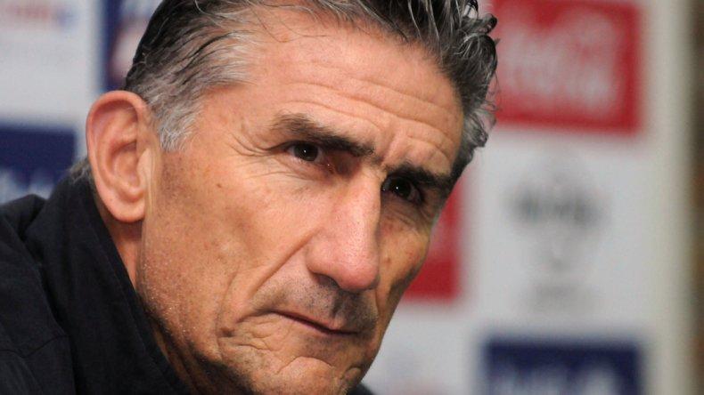 Edgardo Bauza ya piensa en su trabajo como entrenador de la selección argentina.