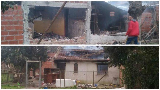 Vecinos le quemaron la casa y golpearon a sospechado de violar a dos adolescentes