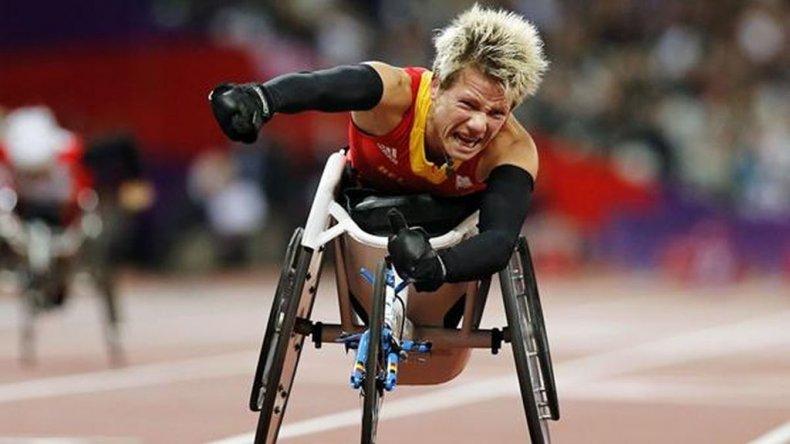 Marieke Vervoort sufre desde 2008 una parálisis en sus piernas