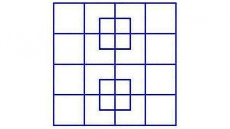 Los cuadrados que vuelven locos a los usuarios de internet