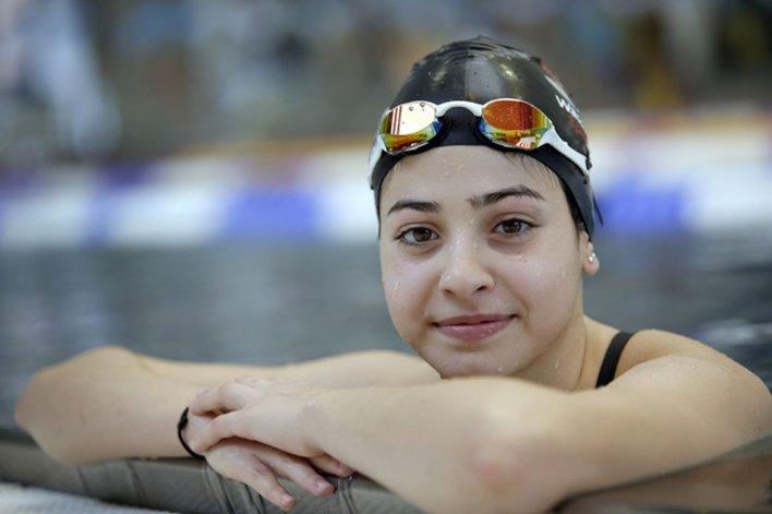 Refugiada salvó a 16 personas y ahora va por una medalla olímpica