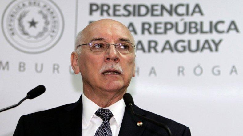 El canciller paraguayo considera que Venezuela no debe presidir el bloque regional.