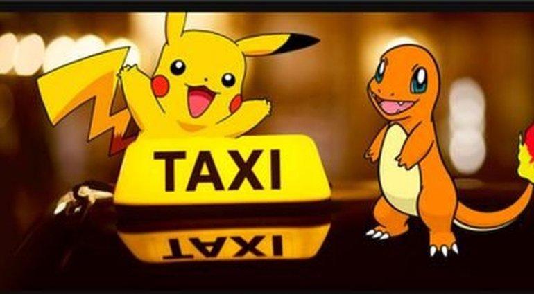 A un día de lanzado oficialmente el Pokémon Go ya hay PokeTaxis