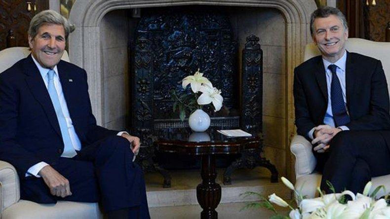 Macri Recibió al Secretario de Estado de EE. UU.