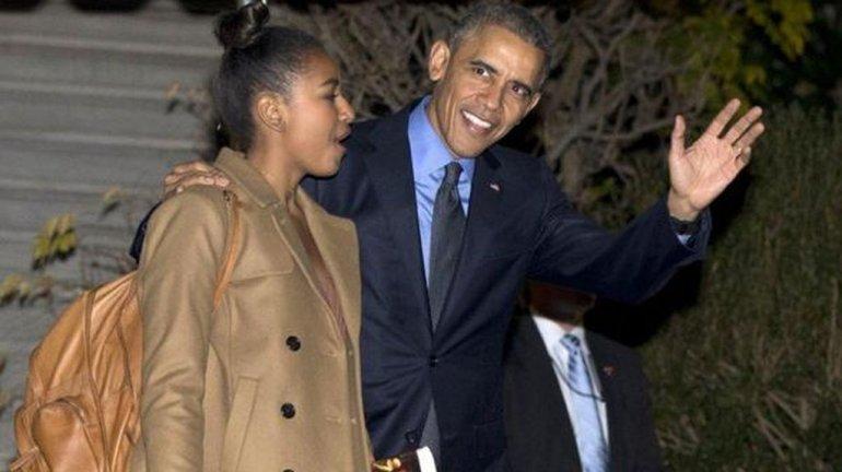 El soprendente trabajo de la hija menor de Barack Obama