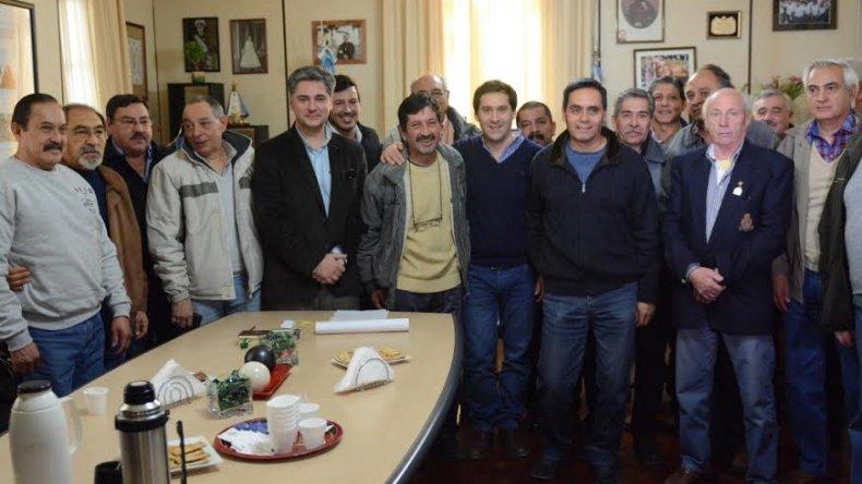 El municipio entregó tarjetas SUBE a excombatientes de Malvinas