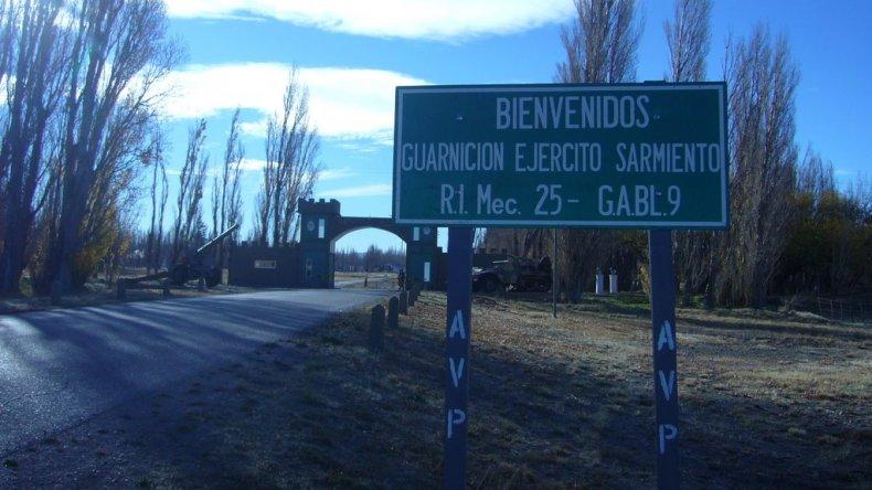 Conmoción en el Regimiento de Sarmiento por un suboficial que habría intentado abusar de su hija