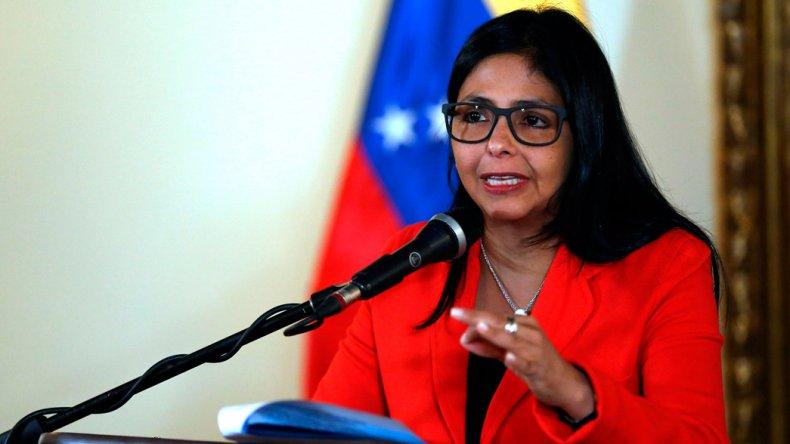 La canciller de Venezuela