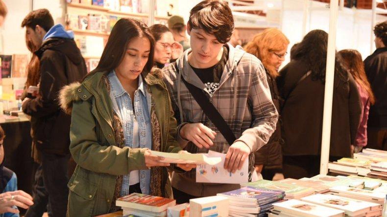 Los más jóvenes fueron los grandes protagonistas de esta nueva edición de la Feria del Libro.