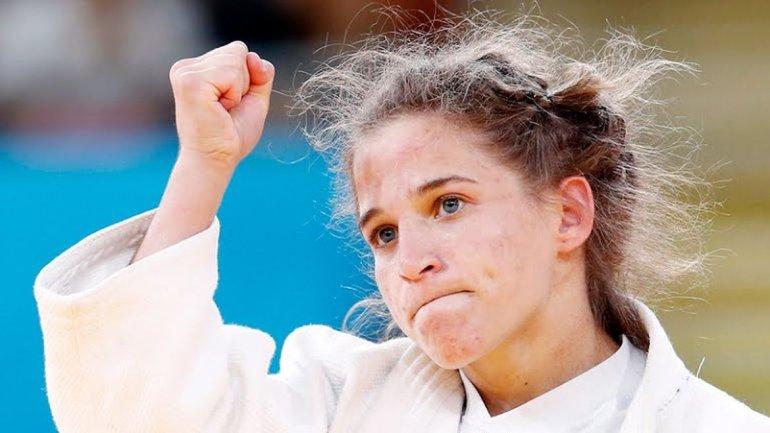 La judoca Paula Pareto pasó a semifinales